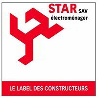 Le label Star des constructeurs pour SAV électroménager